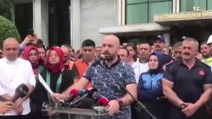 İBB çalışanları Ekrem İmamoğlu'nu protesto etti