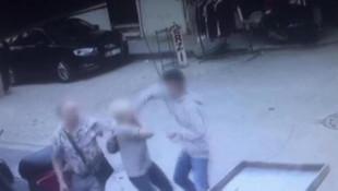 İstanbul'da kadın turiste saldırı anı kamerada
