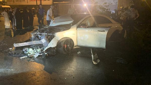 İstanbul'da kabus gecesi ! Polisten kaçarken 4 kişiye çarptı