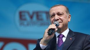 Erdoğan'dan İmamoğlu'na destek mesajı: ''Projelerini deskleyeceğiz''