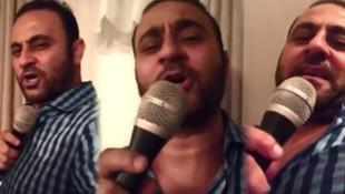 Hasan Şaş'ın şarkı söylediği video sosyal medyada olay yarattı