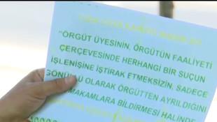 TSK Hakurk'ta teröristlere bu bildiriyi attı
