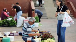 Yenimahalle'nin organik pazarlarına büyük rağbet