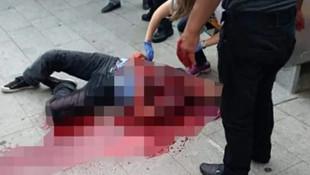 Sokak ortasında boğazını kesip sırtından bıçakladı