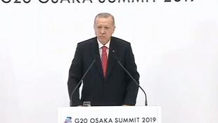 Erdoğan: ''Türkiye'ye yaptırım yok, Trump'ın ağzından duyduk''