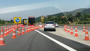 TEM Otoyolu'nu kullanacak sürücüler dikkat !