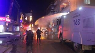 İstabul'da taciz iddiası: Dükkanları taşladılar