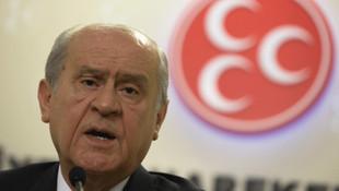 MHP lideri Bahçeli'den Ahmet Davutoğlu açıklaması