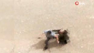 Emekli polis memuru sokak ortasında kurşun yağdırdı