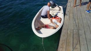 Denizde feci kaza ! Magazinciler ölümden döndü