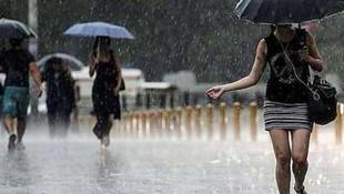Bu illere dikkat ! Meteoroloji'den sağanak yağış uyarısı