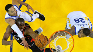 Golden State Warriors 109 - 123 Toronto Raptors