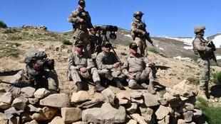 Mağarada kıstırılan 5 terörist öldürüldü