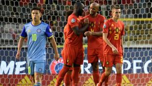 Belçika 3 - 0 Kazakistan