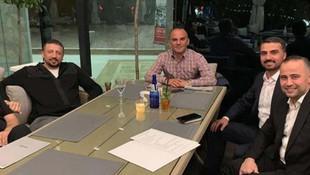Erdoğan'ın danışmanı firari Galip Öztürk ile aynı masada