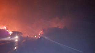 İzmir'de büyük yangın ! İki otel tahliye edildi