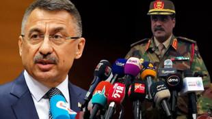 Cumhurbaşkanı Yardımcısı Oktay'dan Libya'ya: Sonuçları ağır olur