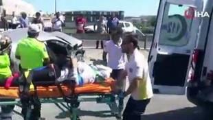 İstanbul'da freni boşalan tanker dehşet saçtı