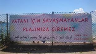 Sinop'taki pankartı kimin astığı belli oldu !