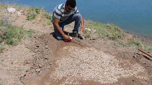 Baraj suyu tarihi ortaya çıkardı