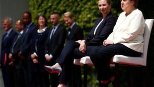 Merkel'in titreme nöbetine önlem alındı