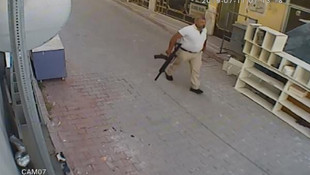 Elinde tüfek, belinde tabanca... Cinayete böyle gitmiş !