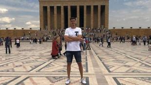 Silviu Lung, Anıtkabir'i ziyaret etti
