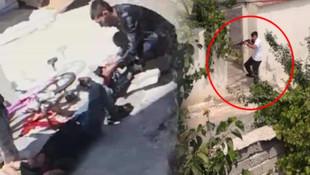 Komşusunu öldürüp 4 yakınını yaralmıştı ! İşte dehşetin görüntüleri