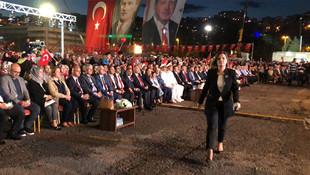 Erdoğan Kılıçdaroğlu'na yüklendi, alanı terk ettiler