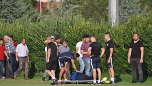 Kayserispor'da Kravets ve Eray İşcan sakatlandı