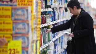 Süpermarkette deterjan paketlerinden kokain çıktı