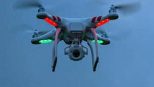 Drone ile hava fişek saldırısı düzenledi