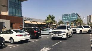Erbil'deki restorana silahlı saldırıdan ilk kareler