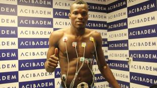 Sivasspor'da Isaac Cofie sağlık kontrolünden geçti