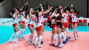 Türkiye 16 Yaş Altı Kız Voleybol Milli Takımı yarı finale yükseldi