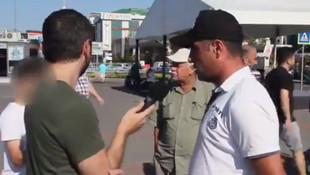 Küçük çocuk, CHP'yi eleştiren vatandaşa böyle yanıt verdi