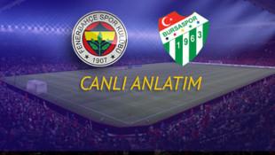 MAÇTA GOL YOK | Fenerbahçe - Bursaspor