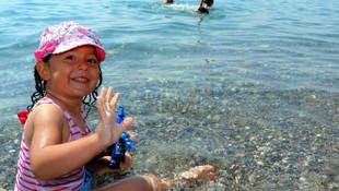 Türkiye'nin denize kıyısı olmayan plajına ziyaretçi akını