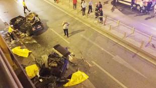 Konya'da korkunç kaza: 7 kişi yaşamını yitirdi