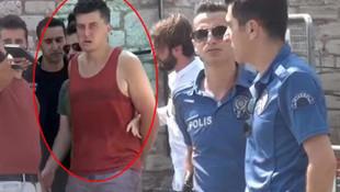 Taksim'de Rus turist ortalığı ayağa kaldırdı