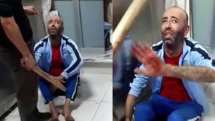 Markette suçüstü ! Depoda sopayla dövüp polise teslim etti