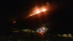 Aydın'da yangın alarmı ! Hızla yayılıyor