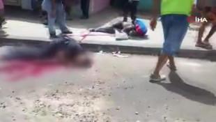 Otobüs durağında katliam: 7 ölü, 5 yaralı