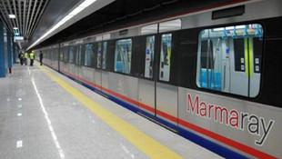 Marmaray'da korkutan anons: İstasyonu acil boşaltın