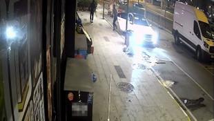 Hırsızlar döner bıçaklarıyla kovaladı
