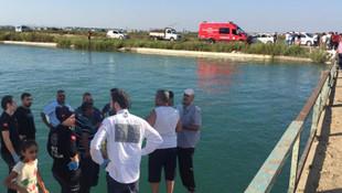 6 çocuk sulama kanalında akıntıda kayboldu