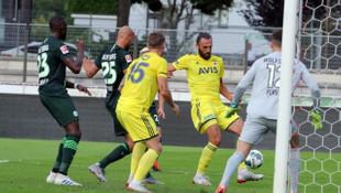 Fenerbahçe 1 - 1 Wolfsburg (Hazırlık maçı)