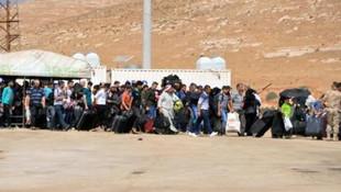 Suriyeliler sınır kapılarına akın etti !