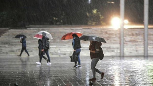 Meteoroloji'den kritik uyarı ! Kuvvetli yağış geliyor