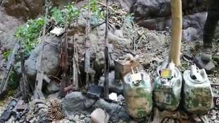 PKK'ya ait tanksavar silahı ele geçirildi